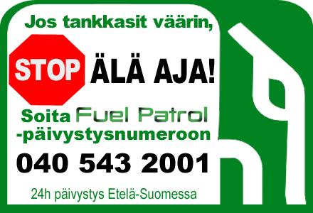 Tankkasin väärin, Fuel Patrol auttaa