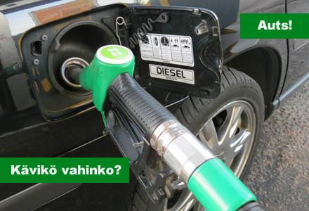 Ole tarkkana, kun valitset tankkauspistoolia